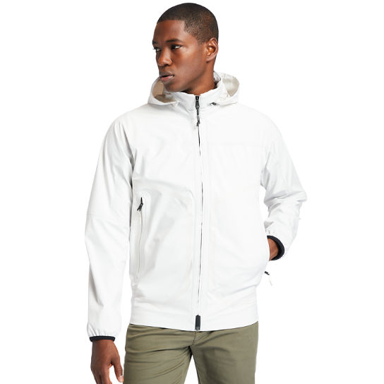 Waterproof Sailor Jacket for Men in White | Timberland