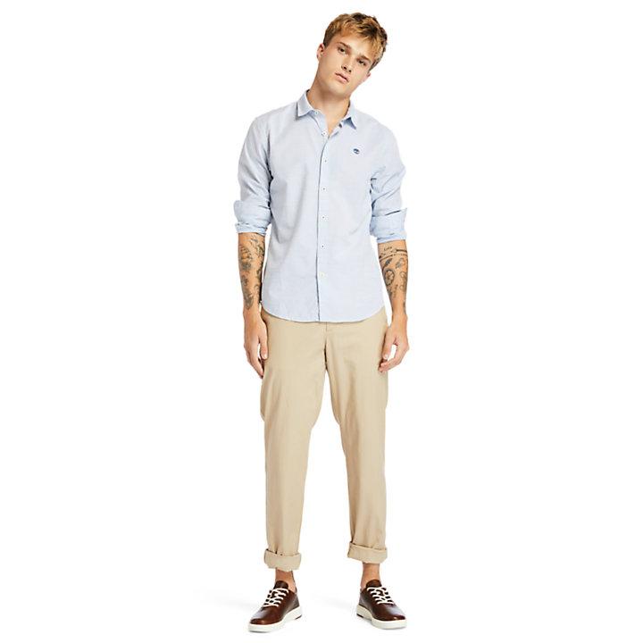 Camisa Tioga River para Hombre en azul claro-