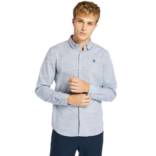Tioga River Shirt for Men in Blue | Timberland