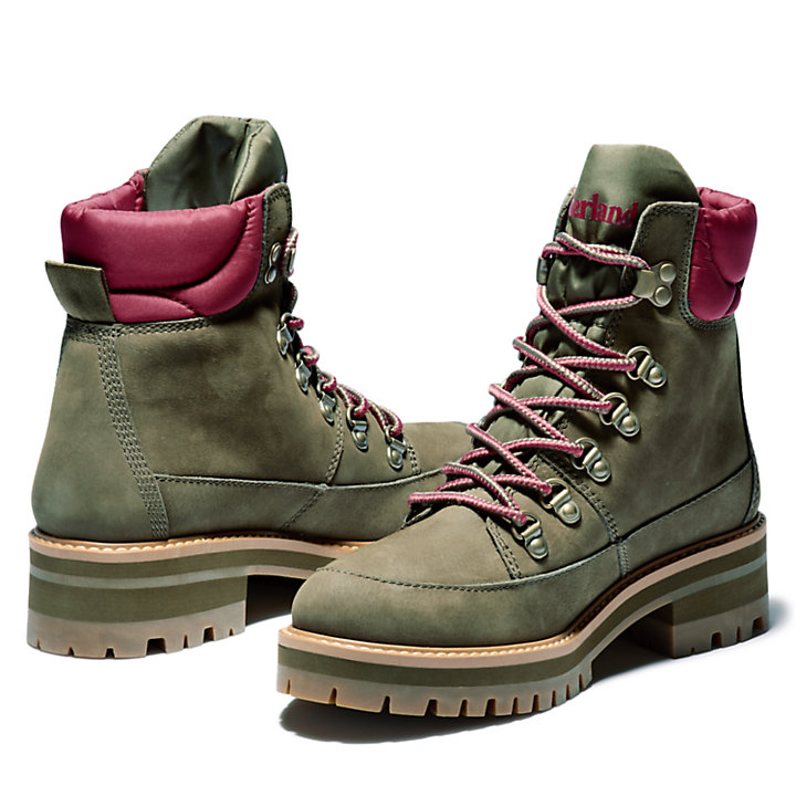 Courmayeur Valley Hiker for Women in Green-