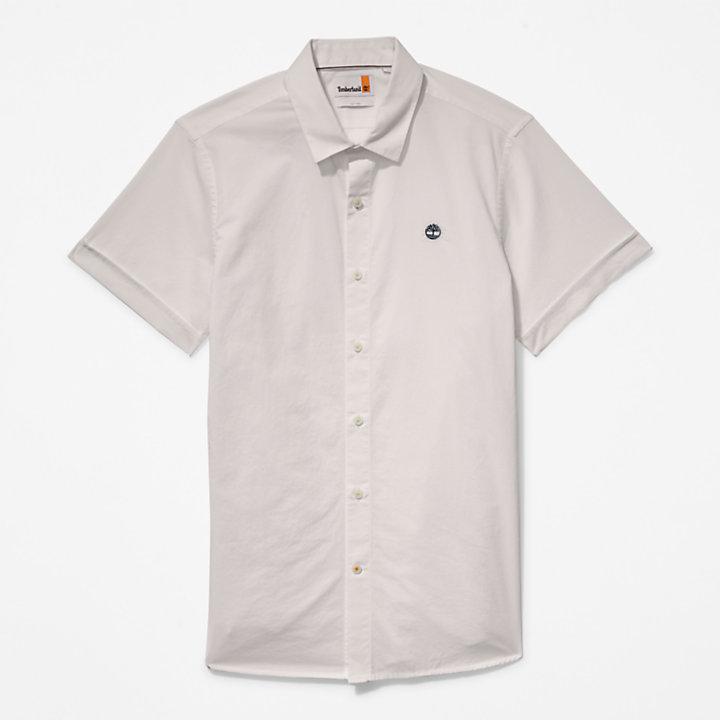 Camisa de Popelina Eastham River para Hombre en blanco-