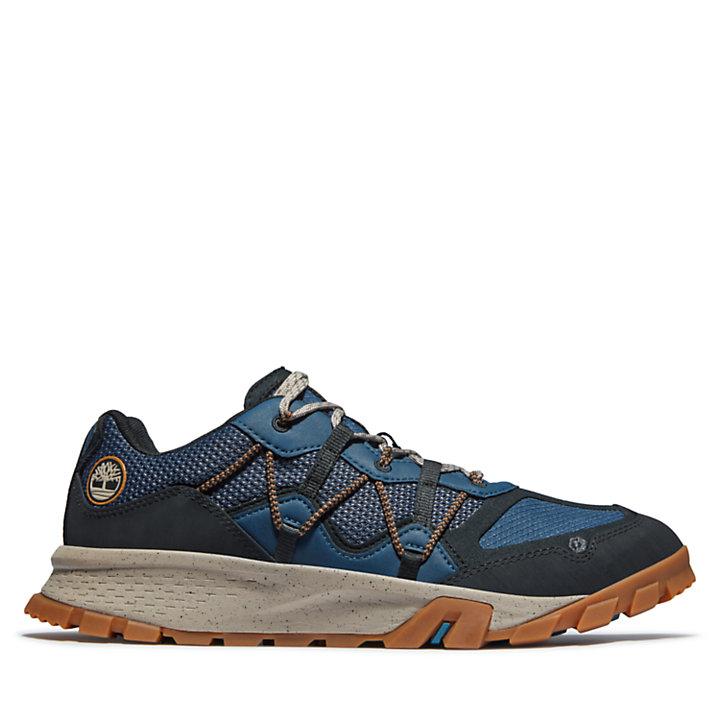Garrison Trail Hiking Shoe for Men in Blue-
