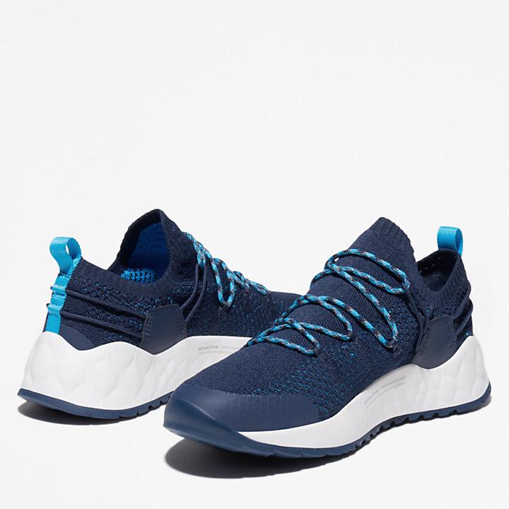 Solar Wave Sneaker for Men in Navy-