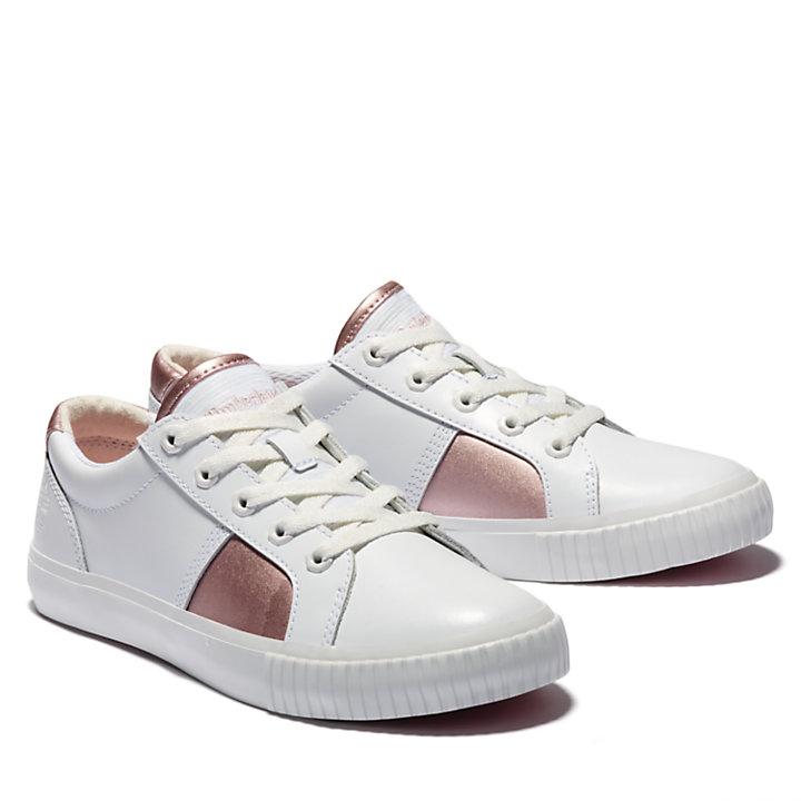 Tennis Skyla Bay pour femme en blanc/rose-
