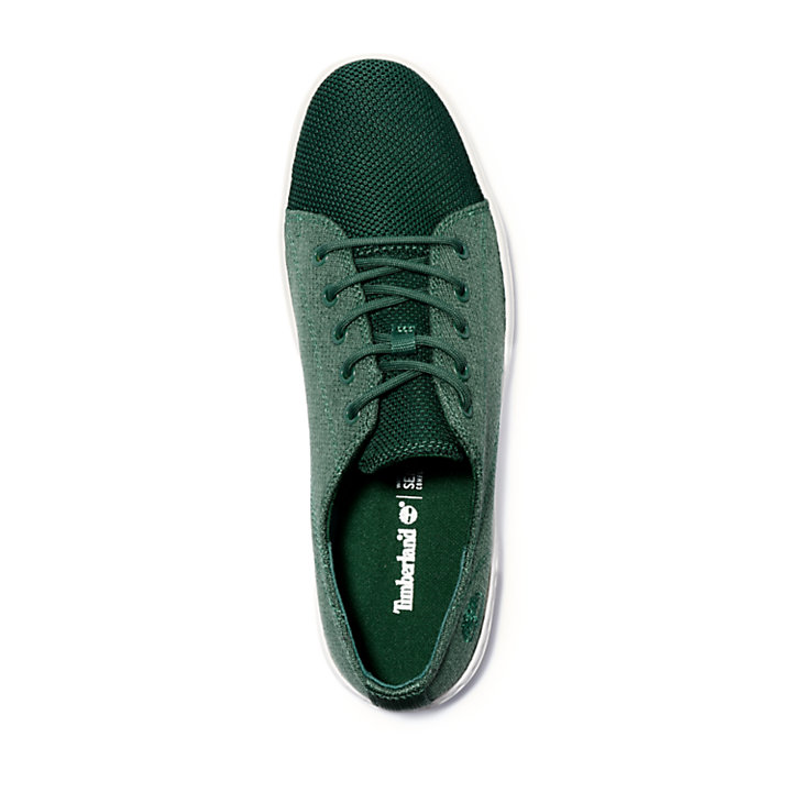Oxford da Uomo Amherst Knit in verde-
