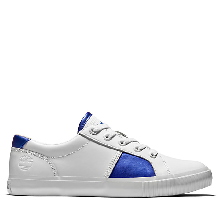 Skyla Bay Trainer for Women in White/Blue-