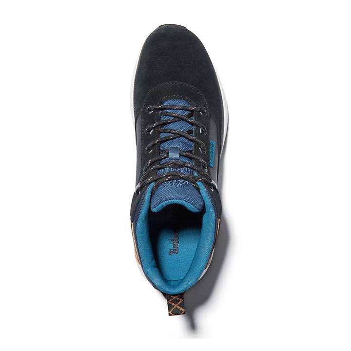 Field Trekker Trainer for Men in Black/Blue-