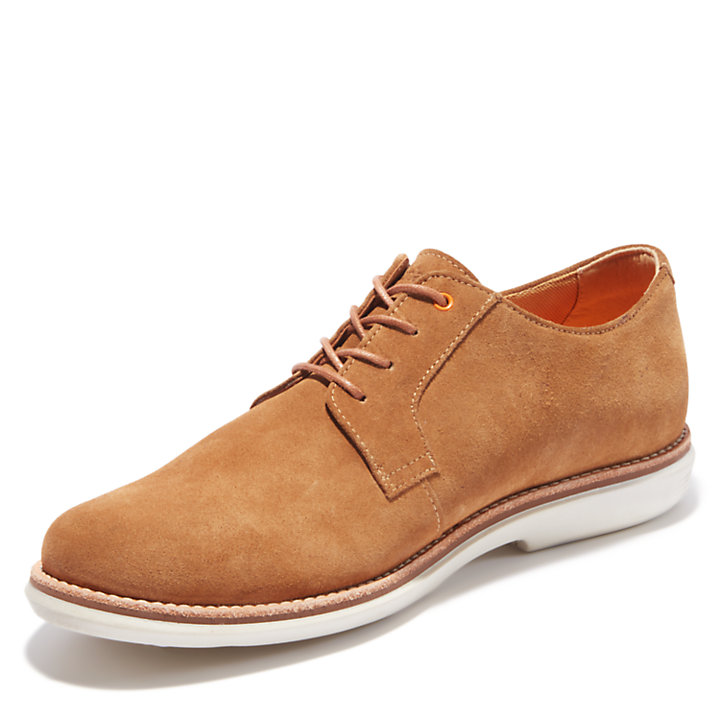 Scarpa Oxford da Uomo City Groove in marrone-