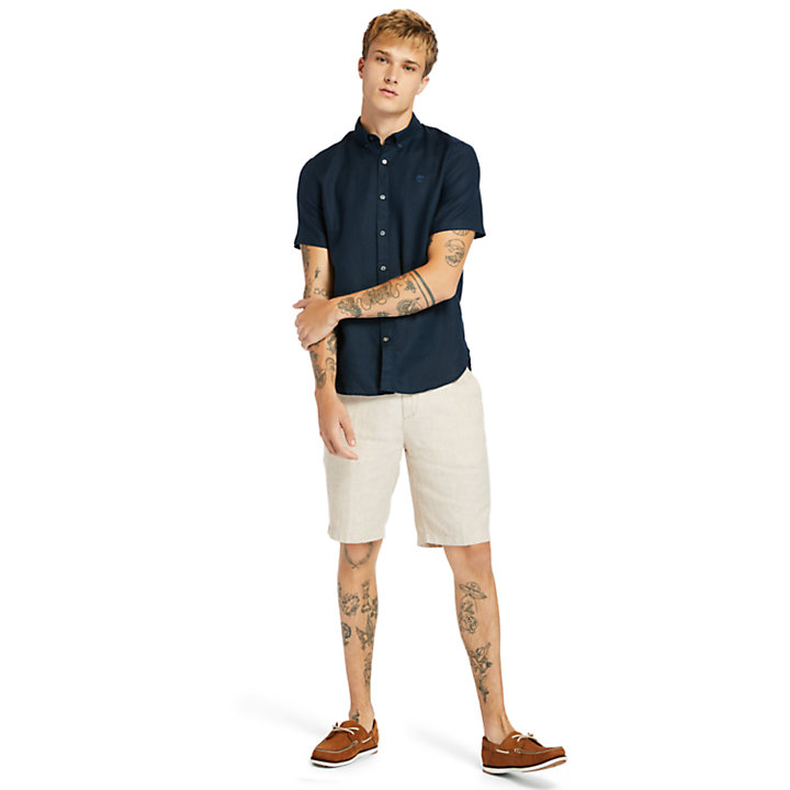 Squam Lake Summer Shorts for Men in Beige-
