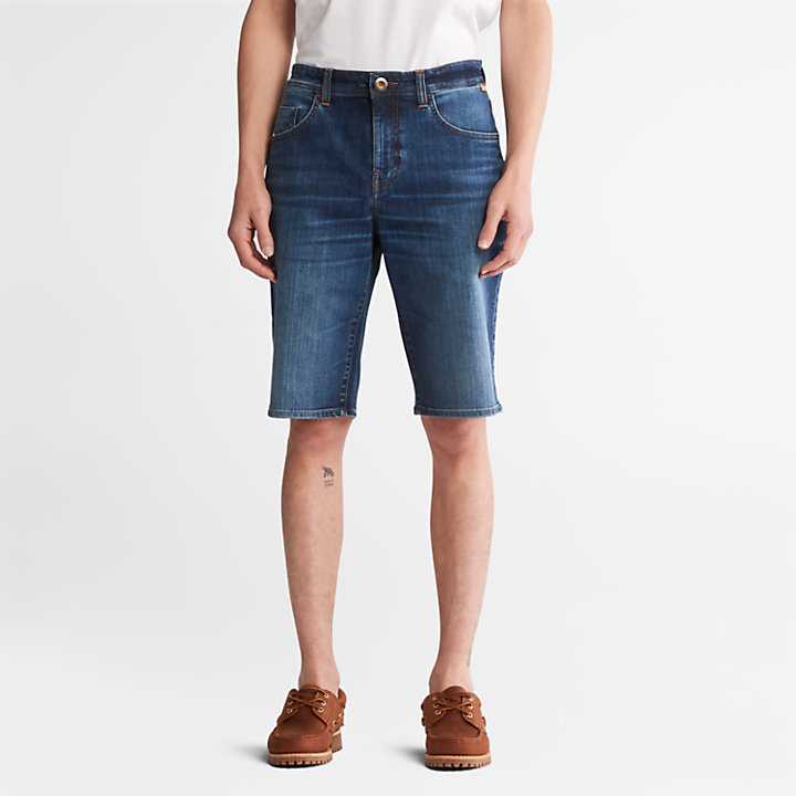 Pantalón corto vaquero Canobie Lake para Hombre en añil-