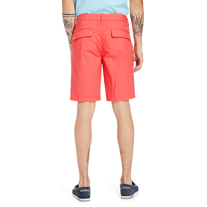 Squam Lake Lightweight Shorts for Men in Coral-