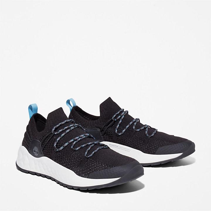 Solar Wave Sneaker voor heren in zwart-