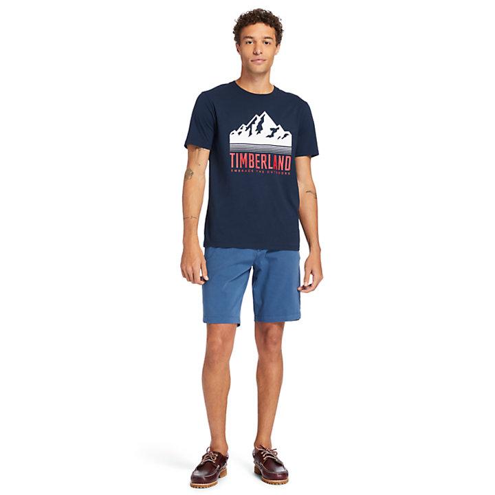 Pantalón Corto Squam Lake para Hombre en azul-