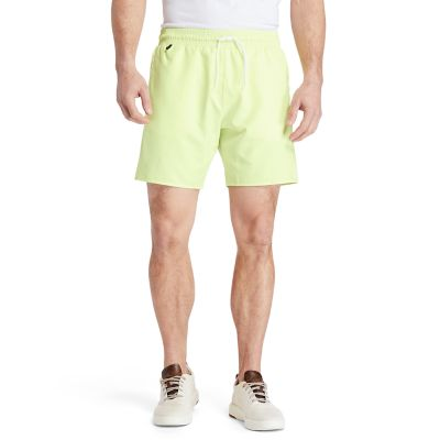Sunapee+Lake+Solid-colour+Swim+Shorts+for+Men+in+Light+Green