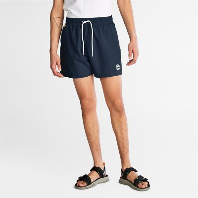 Sunapee+Lake+Solid-colour+Swim+Shorts+for+Men+in+Navy
