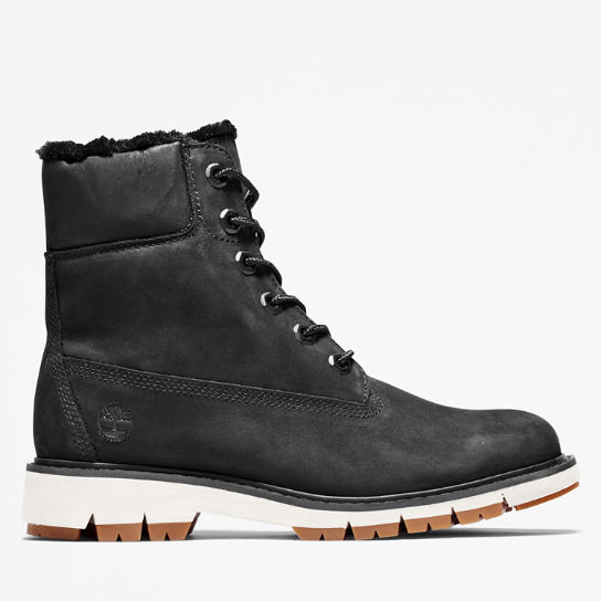 Scarponcino Foderato da Donna Lucia Way in colore nero | Timberland