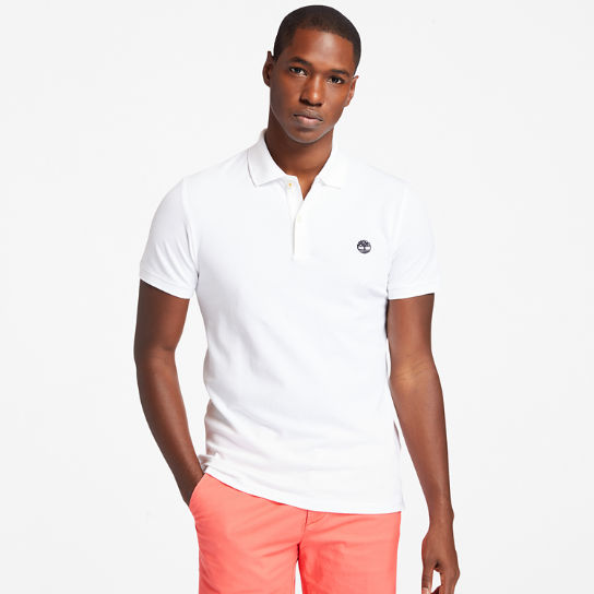 Merrymeeting River Polo Shirt for Men in White | Timberland