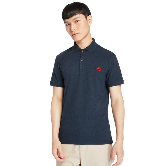 Polo Merrymeeting River pour homme en bleu marine | Timberland