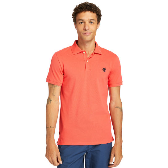 Merrymeeting River Polo Shirt for Men in Red | Timberland