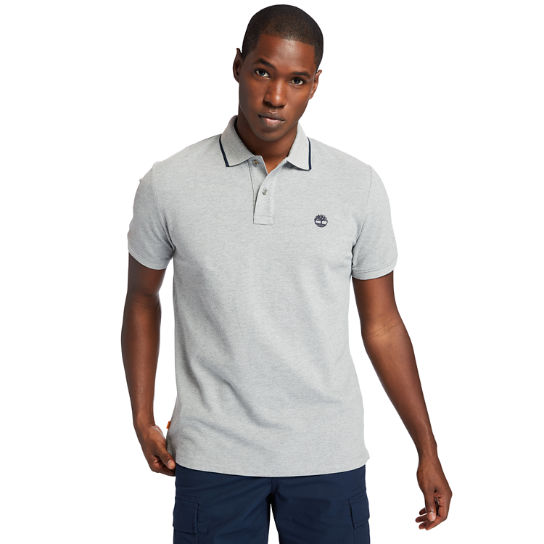 Mountain-to-Rivers Polo Shirt for Men in Grey | Timberland