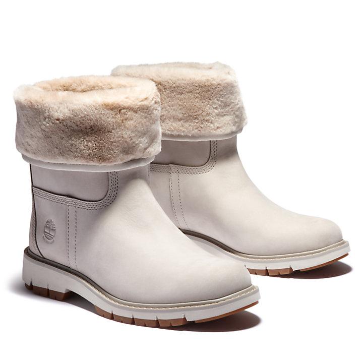 Lucia Way Winter Boot for Women in Beige-