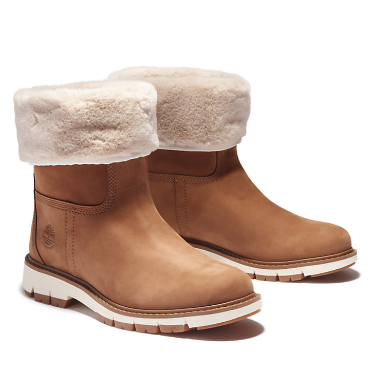 Lucia Way Winter Boot for Women in Brown-