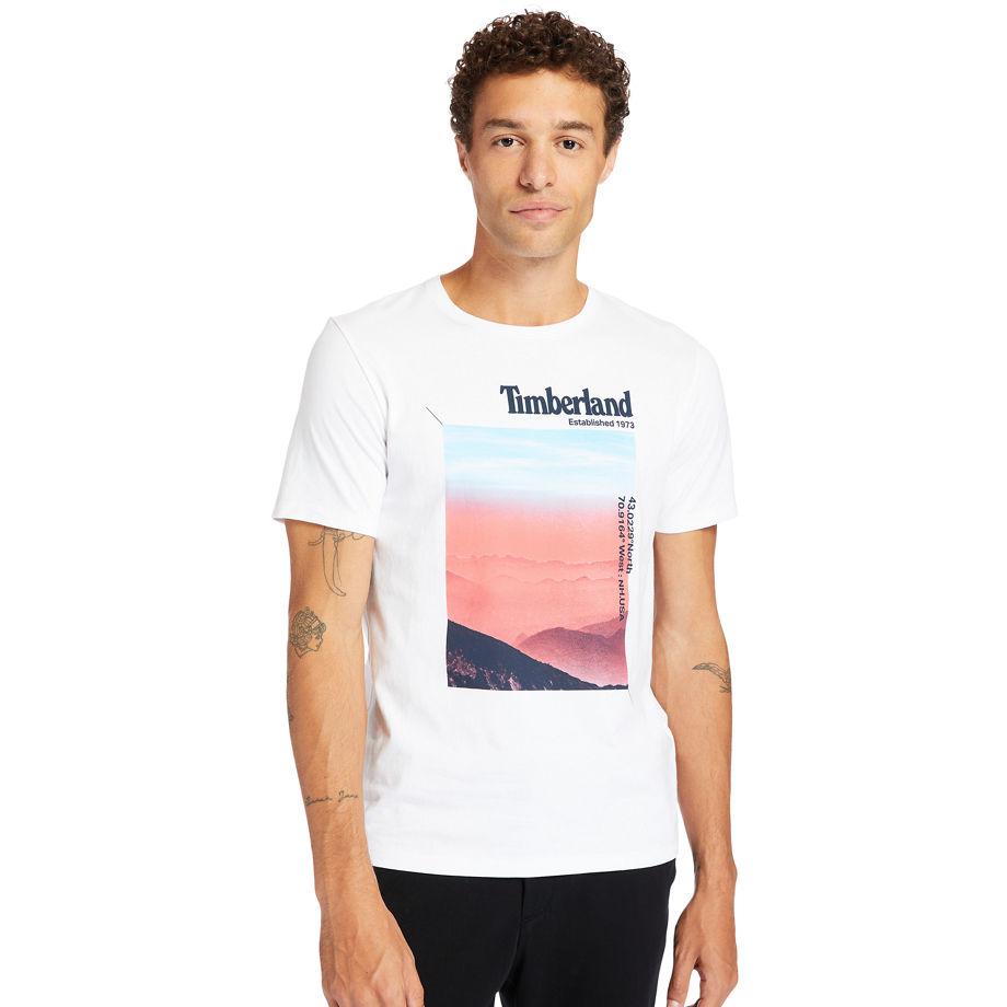 T-shirt À Photo En , Taille L - Timberland - Modalova
