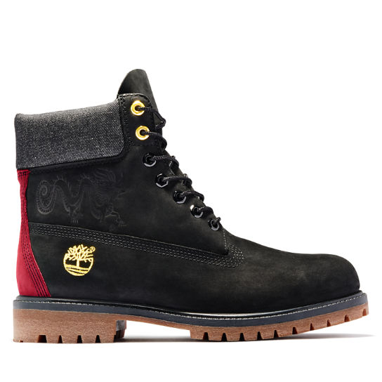 Chinese New Year Edition 6 Inch Boot for Men in Black | Timberland