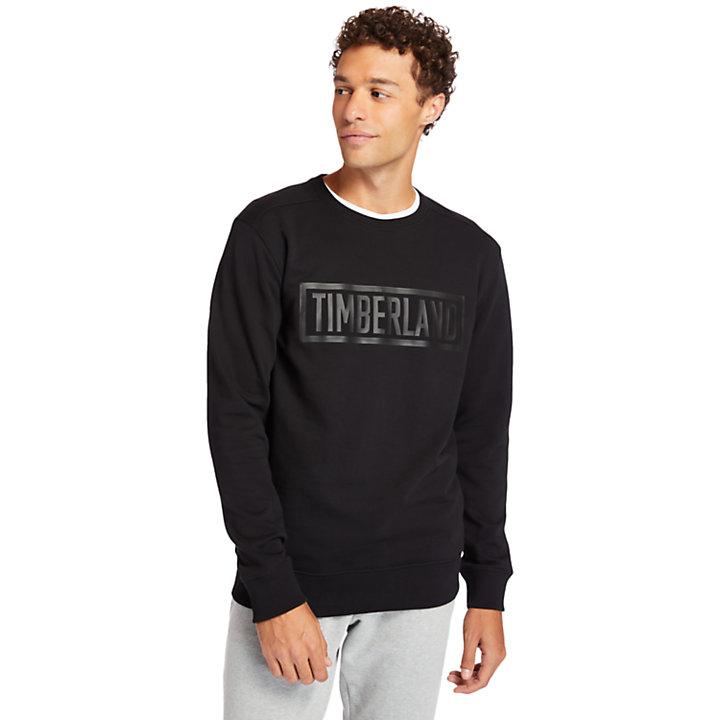 Shedd Brook 3D-logo Sweatshirt for Men in Black-