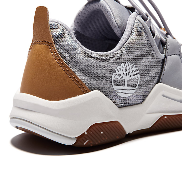Zapatilla Earth Rally para Niño (de 30,5 a 35) en gris-