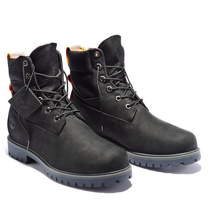 Premium 6-Inch-Stiefel für Herren in Schwarz-