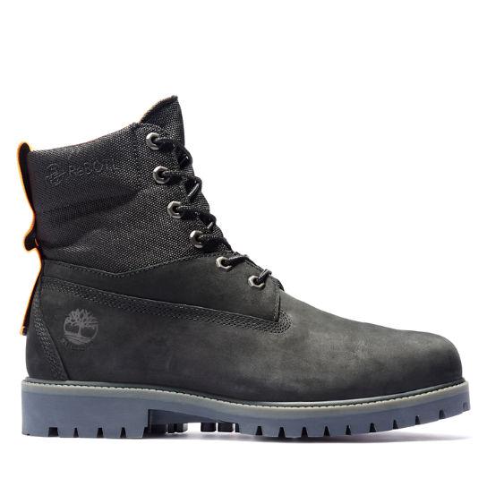 Premium 6 Inch Stiefel für Herren in Schwarz