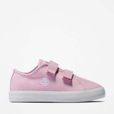Newport+Bay+2-Strap+Trainer+for+Toddler+in+Pink