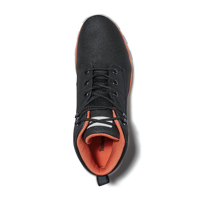 Chukka da Uomo Treeline in colore nero/arancione-