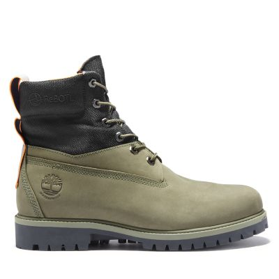 6+Inch+Premium+Boot+for+Men+in+Green