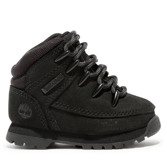 Euro Sprint Hiker for Toddler in Black Nubuck | Timberland