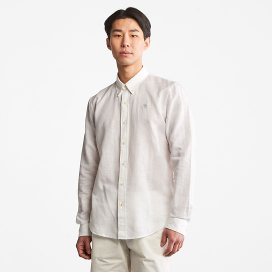 Lovell Long-sleeved Shirt for Men in White | Timberland