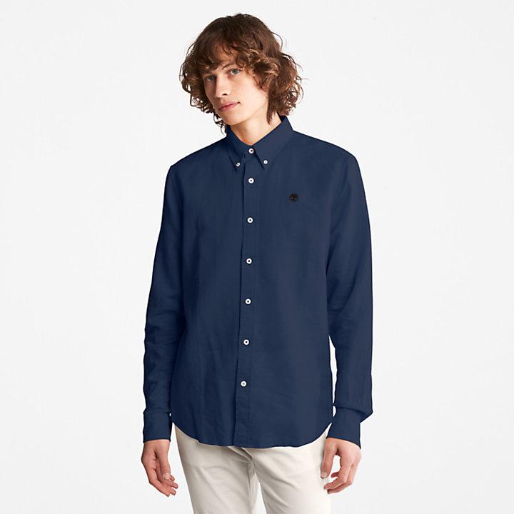 Lovell Long-sleeved Shirt for Men in Blue-