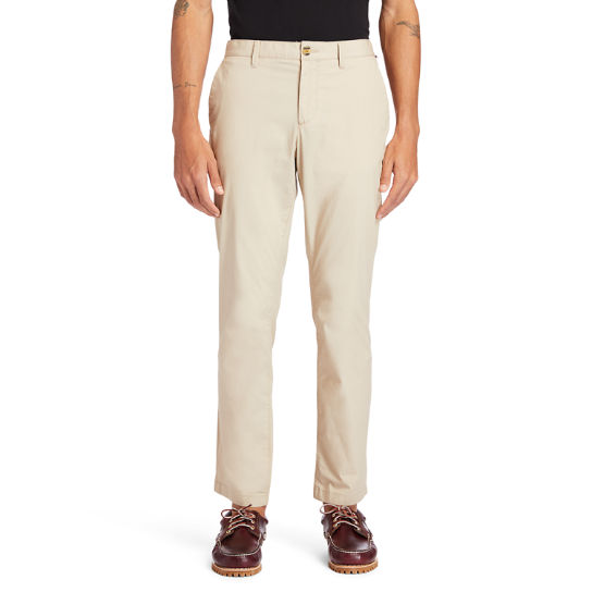 Chino stretch Squam Lake pour homme en beige | Timberland