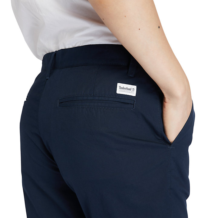 Squam Lake Stretch-Chinohose für Herren in Navyblau-