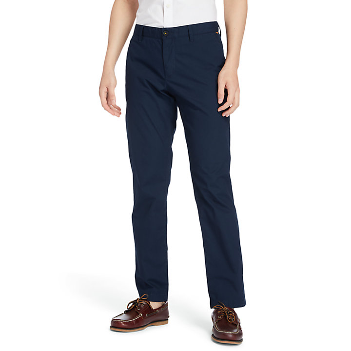 Chino stretch Squam Lake pour homme en bleu marine-