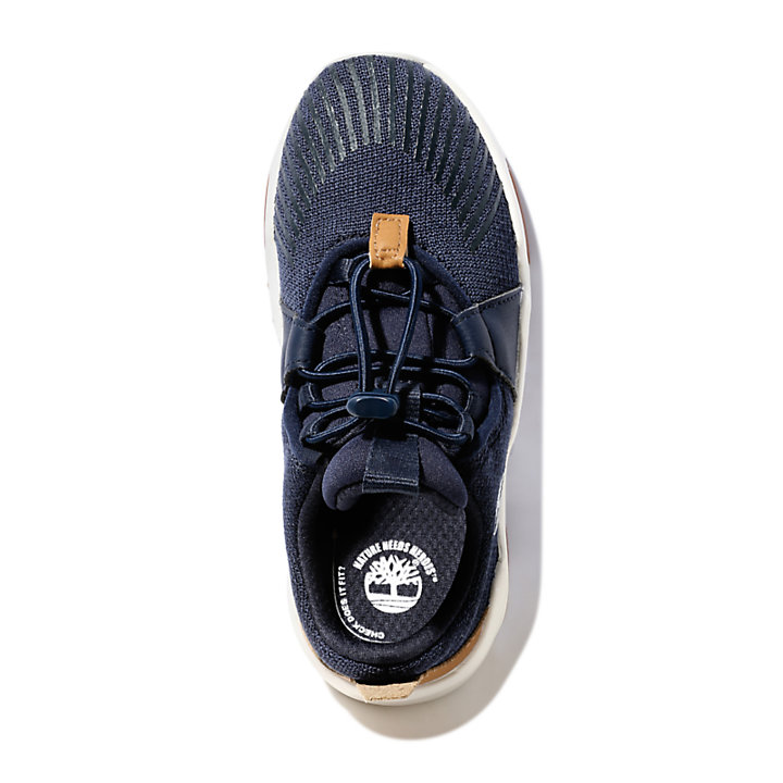 Earth Rally Sneaker for Toddler in Navy-
