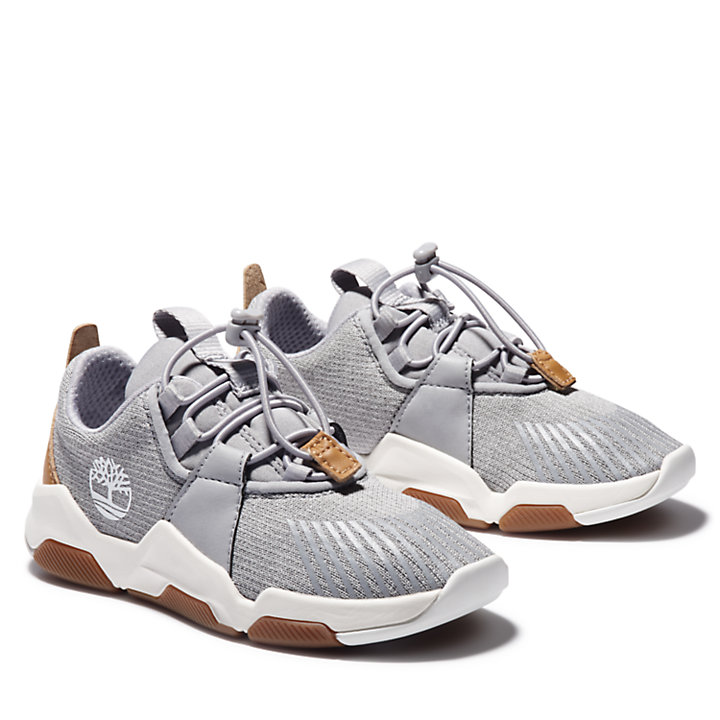 Earth Rally Oxfordschuh für Kinder in Grau-