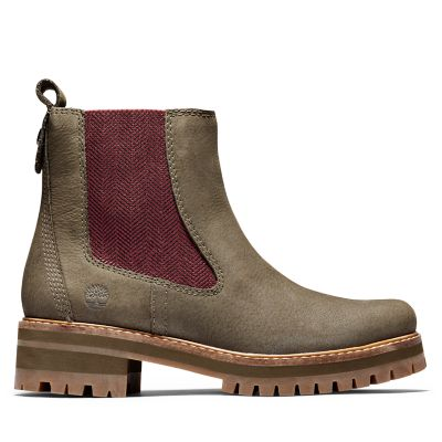 Courmayeur+Chelsea+Boot+for+Women+in+Green