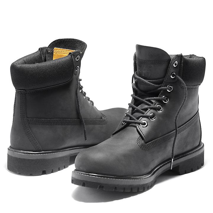 Timberland® Premium 6-Inch-Stiefel in Einfarbig Schwarz-