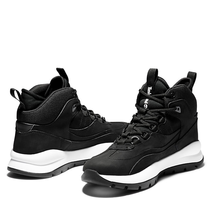 Bota de Media Caña Boroughs Project para Hombre en color negro-