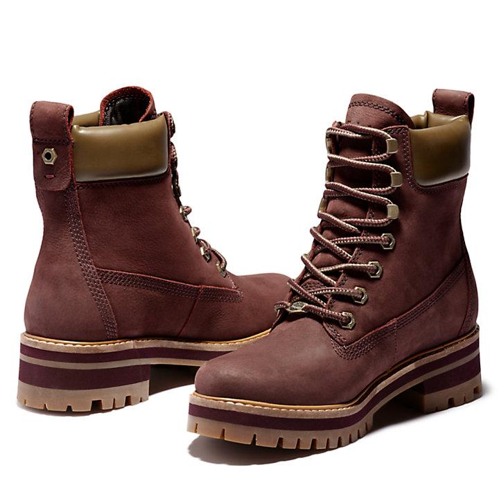 Courmayeur Valley Boot for Women in Burgundy-
