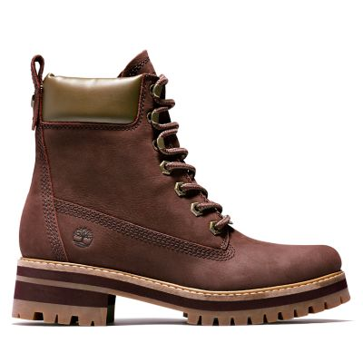 Courmayeur+Valley+Boot+for+Women+in+Burgundy