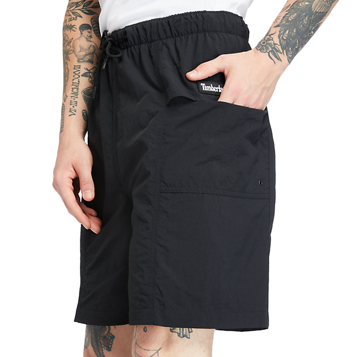 Outdoor Archive Trail Shorts for Men in Black-