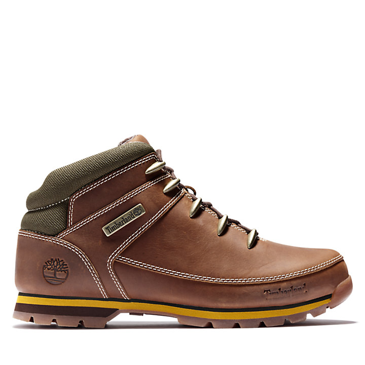 Euro Sprint Mid Hiker for Men in Light Brown-
